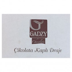Gadzy Dragee almonds covered with dark chocolate 3kg