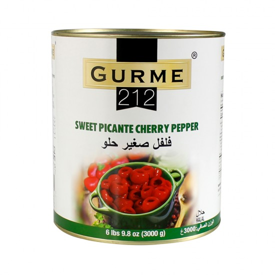 Gurme212 Picante Cherry Peppers 3000 gr