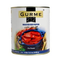 Gurme212 Roasted Peppers 3100 gr