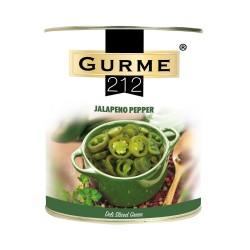 Gurme212 Pickled Jalapeno Peppers 2900 gr