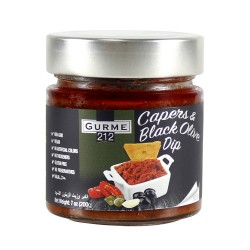 Gurme212 Capers & Black Pencil Sauce 255 g