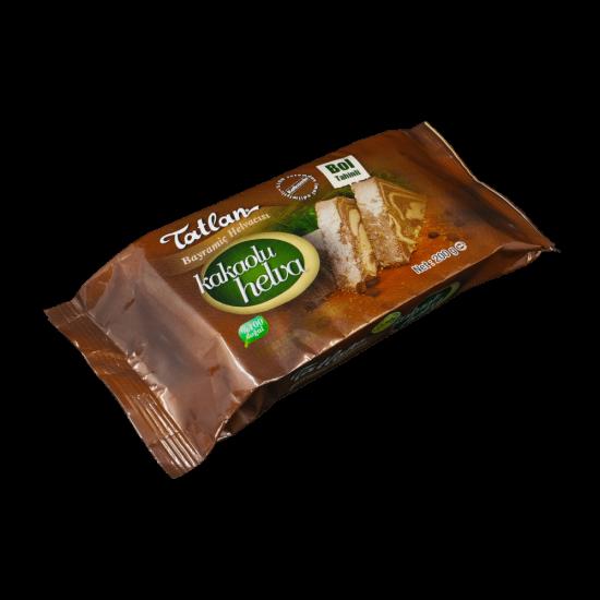 Tatlan Tahini Halva With Cocoa Package, 200 gr