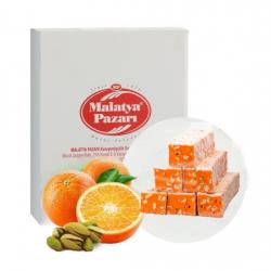 Malatya Pazari  Turkish Delight with Orange, 3 kg