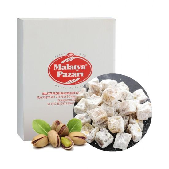 Malatya Pazari Turkish Delight double with pistachios 3KG