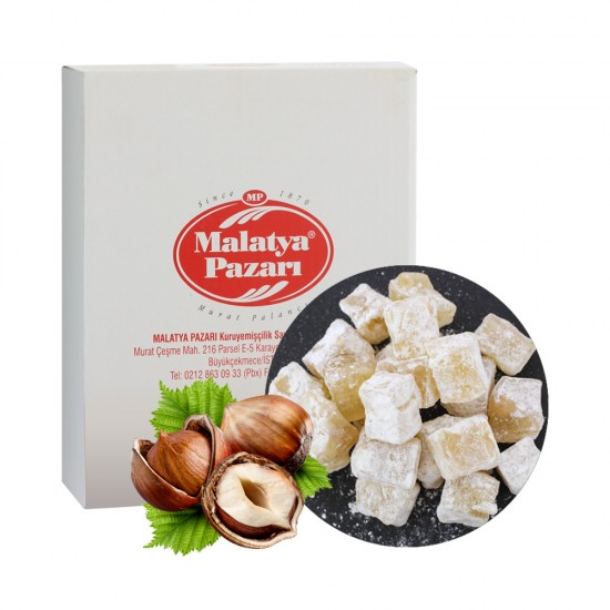 Malatya Pazari Turkish Delight with hazelnuts 3kg