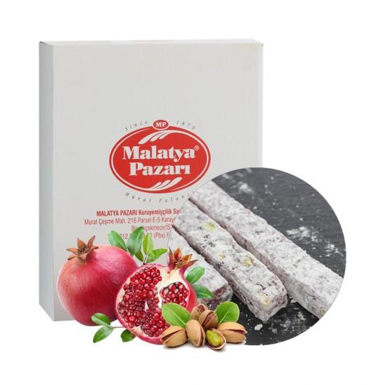 Malatya Pazari Turkish Delight pomegranate with pistachios 3 kg