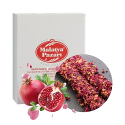 Malatya Pazari Turkish Delight pomegranate with petals  3kg