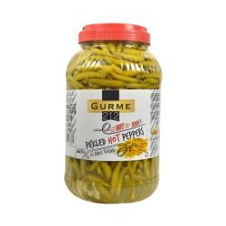 Gurme 212 Pickled Hot Peppers 3785 gr