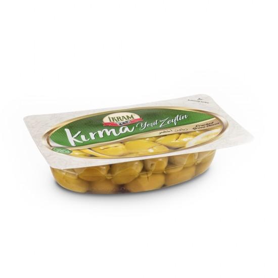 Ikram Green Olives Cracked 200 gr