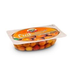 Ikram Green olives Scratched 200 gr