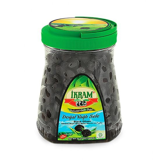 Ikram Black Olives Sele 1000 gr
