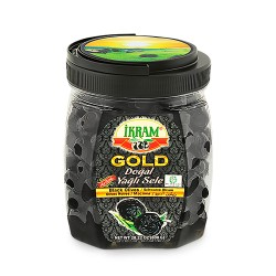 Ikram Black Olives Natural Sele Gold 800 gr