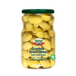 Ikram Cracked green olives 700 gr