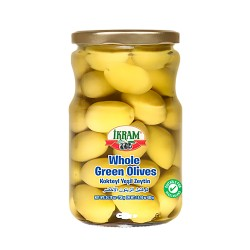 Ikram Green Olives Whole 700 gr