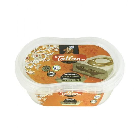 Tatlan Tahini Halva With Caramel In The Middle 300 gr