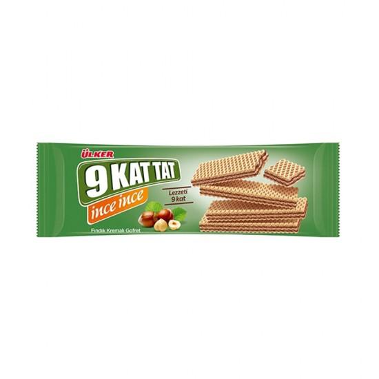Ulker 9 Kat Tat Nut Waffles With Cocoa 114 gr