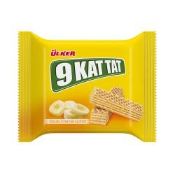 Ulker 9 Kat Tat Waffles With Banana 39 gr