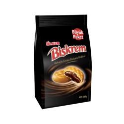 Ulker Biskrem Biscuit filled w/Chocolate 200 gr