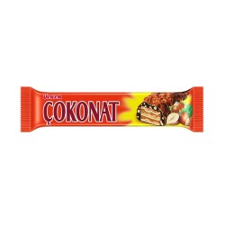 Ulker Cokonat Waffle Bar covered w/Chocolate 33 gr