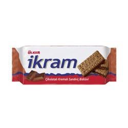 Ulker İkram Biscuit w/Chocolate Cream 84 gr